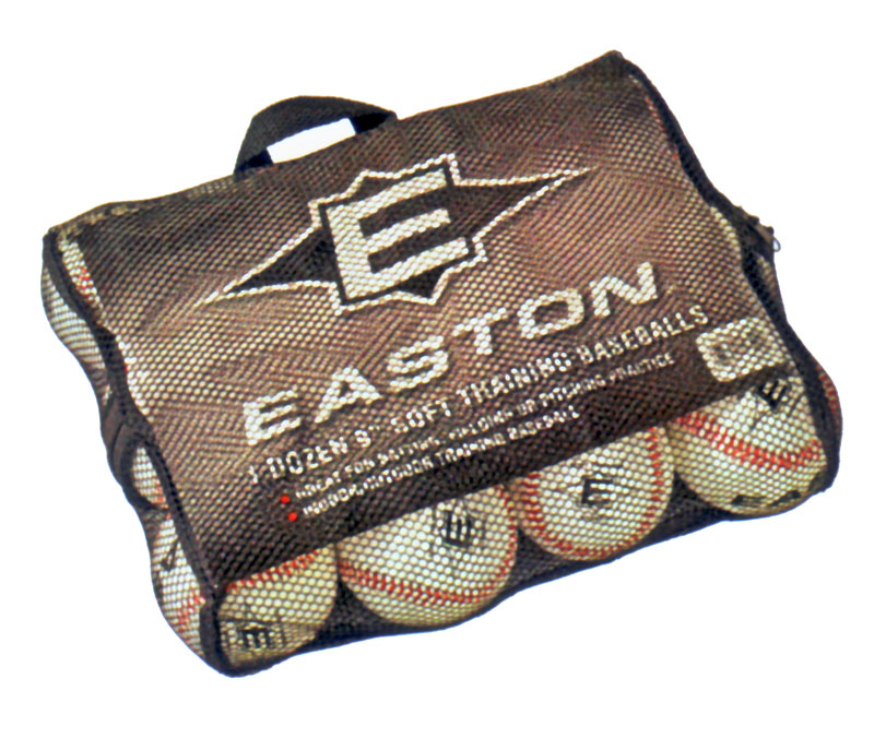 "Easton 9"" Soft Training Baseballs-Dozens"